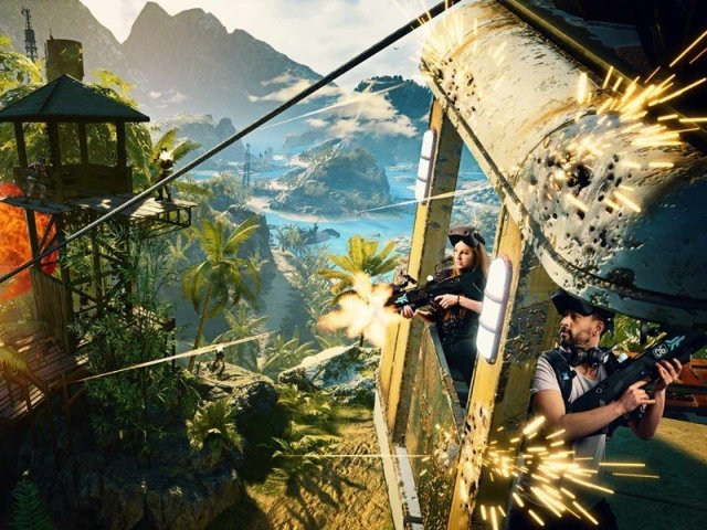 Far Cry Vr Cable Car