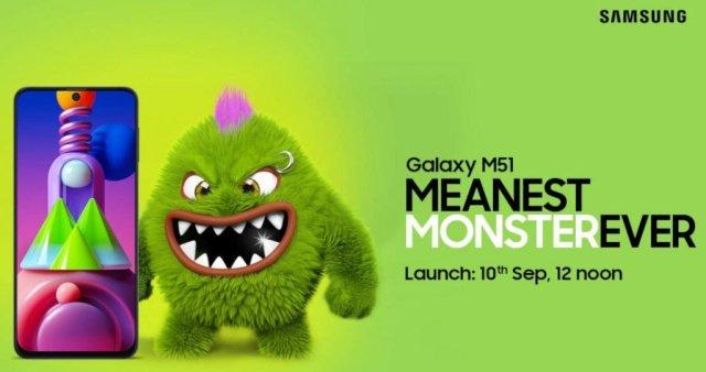 Samsung Galaxy M51 India Launch Date