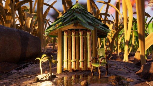 Grounded Screenshot Tiny Hut