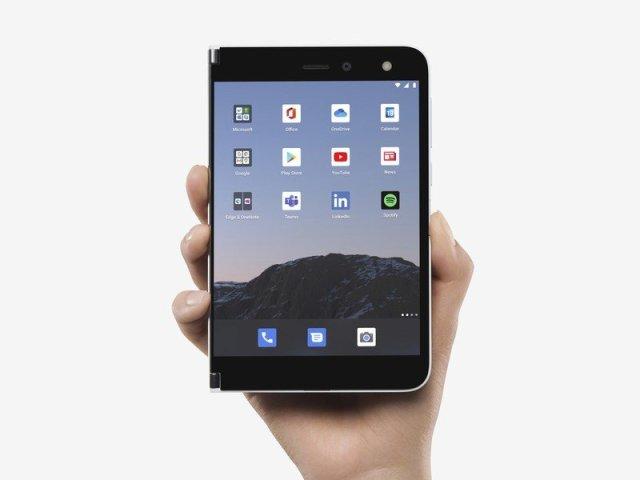 Surface Duo Single Screen Mode