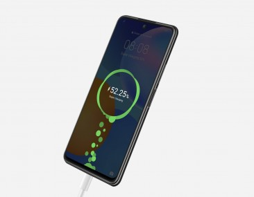 side mounted fingerprint and 22.5W charging