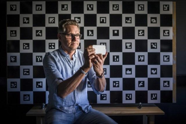 Imint CEO, Andreas Lifvendahl
