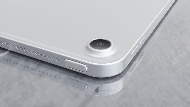 iPad Air Touch ID concept