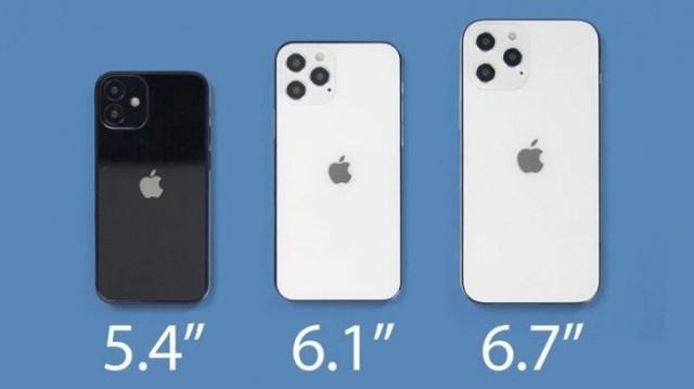 iPhone 12 display sizes anticipated