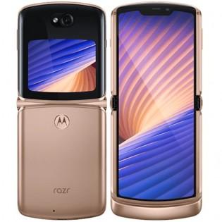 Motorola Razr 5G in Blush Gold color