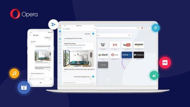 Opera My Flow Desktop Android