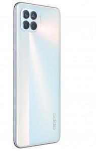 Oppo F17 Pro in Metallic White