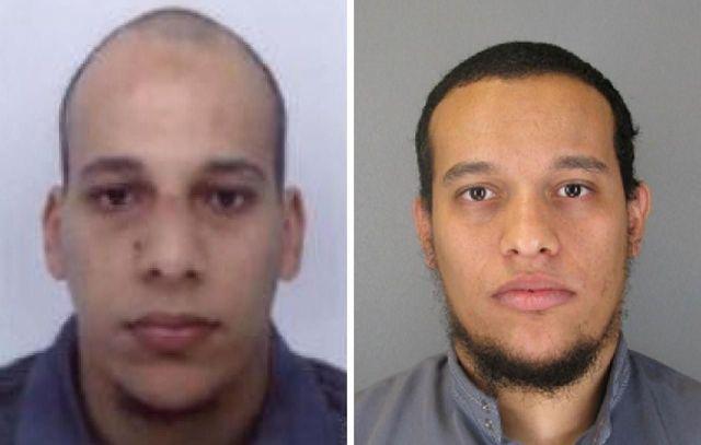 Chérif et Saïd Kouachi, deux des auteurs de l'attentat de «Charlie Hebdo», sont morts lors d'un assaut du GIGN, le 9 janvier 2015 à Dammartin-en-Goële./AFP PHOTO