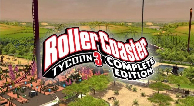 Roller Coaster Tycoon 3 Announcement Trailer