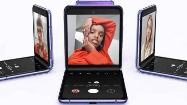 Samsung Galaxy Z Flip 2 Concept Image