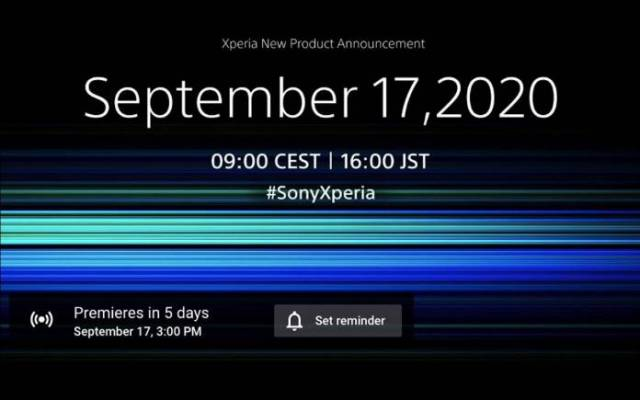 Sony Xperia New Product Announcement