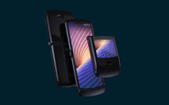 T-Mobile 5G Motorola RAZR Foldable Phone