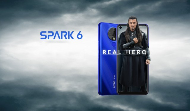 "Tecno Spark 6 debuts with 6.8"" display, Helio G70 chipset and agressive price"