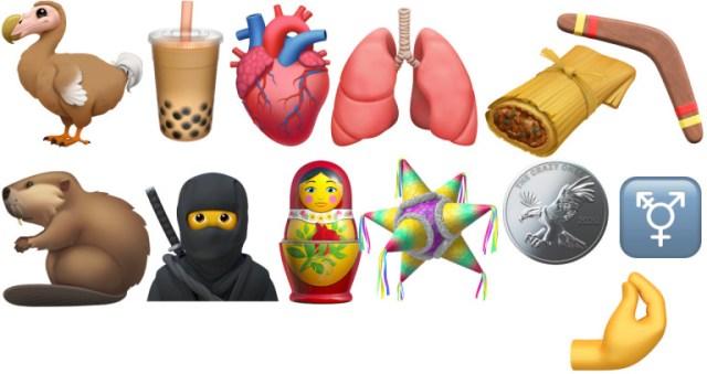 Nouveaux emojis Apple iOS 14.2 iPhone
