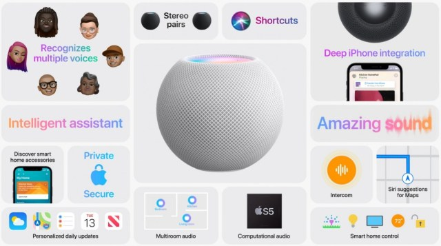 Apple outs $99 HomePod Mini with big sound and Siri smarts