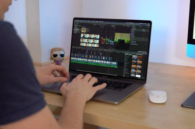 Final Cut Pro Macbook Pro 16 pouces