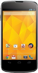 Google's Nexus 4 (made by LG)