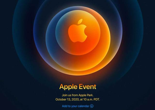 Invitation Apple - Keynote iPhone 12