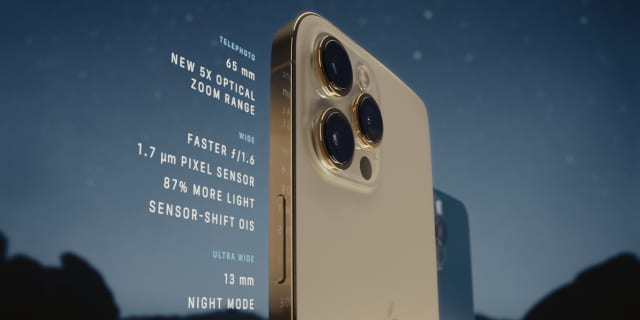 iPhone 12 Pro Max camera specifications