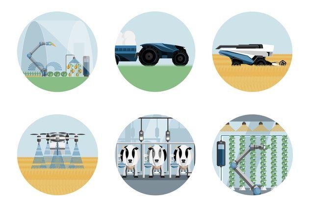 Les robots agricoles passent le cap des 10 000 en France