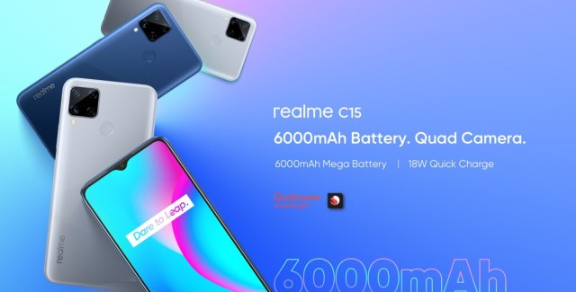 Realme C15 Qualcomm Edition with Snapdragon 460 chipset launched in India