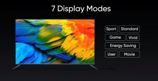 The TV has 7 display modes and comes with Chroma Boost engine
