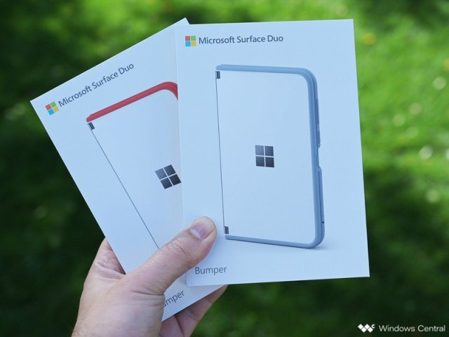 Surface Duo Bumpers Boxes