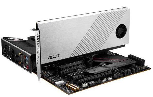 ROG Strix B550-XE Gaming et la carte Hyper M.2 x16 Gen 4.0