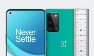 The OnePlus 8T will be taller, wider than the OnePlus 8 despite having the same screen size