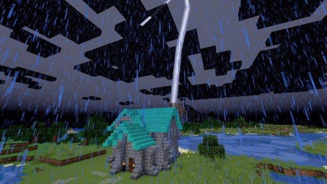 Minecraft Caves And Cliffs Update Lightning Rod