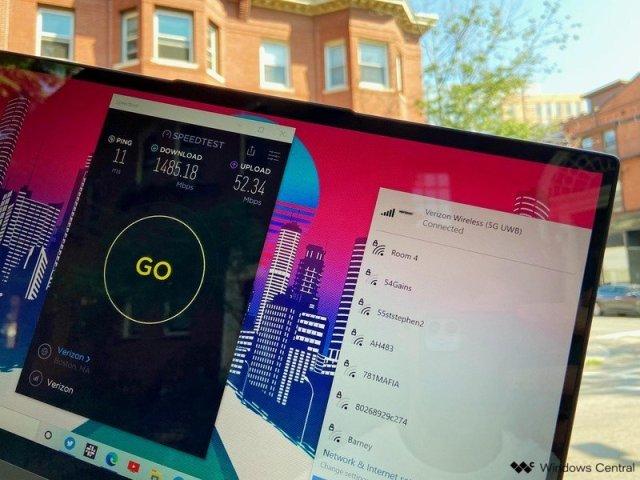 Lenovo Flex 5g Verizon 5g Speedtest
