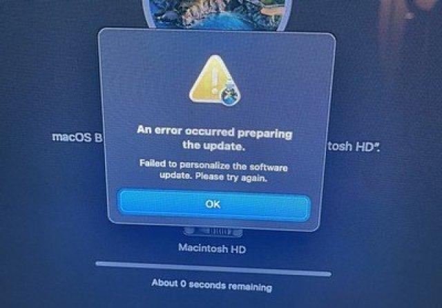 macos big sur m1 macs restore issue