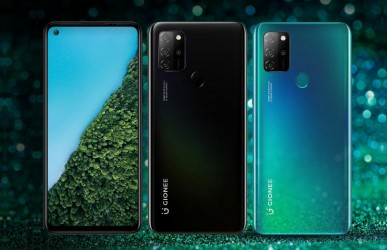 The Gionee M12 is available in Magic Green and Dazzling Black