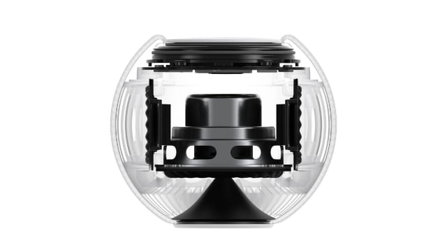 HomePod mini internal speaker components