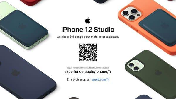 Le site de l'iPhone 12 Studio