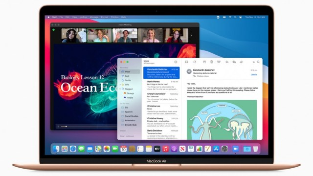 macOS Big Sur to be available starting November 12