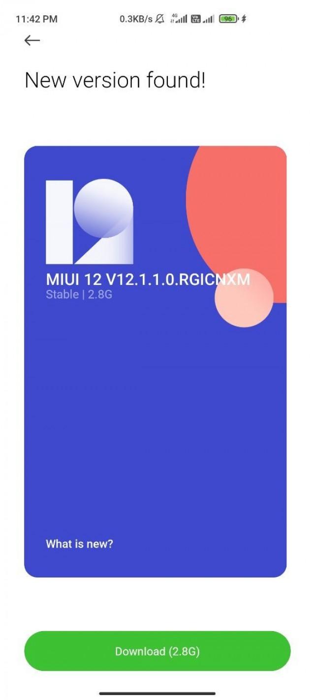 MIUI 12.0.2.0 QEEMIXM firmware