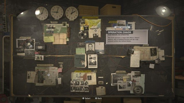 Call Of Duty Black Ops Cold War Evidence Board