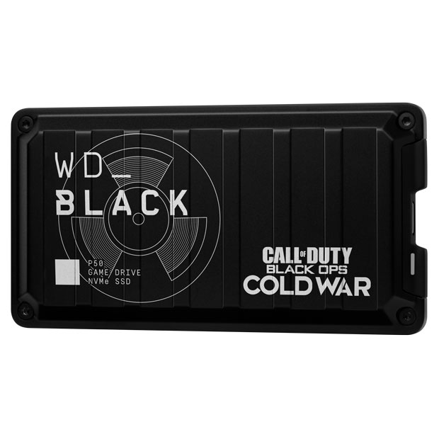 WD_BLACK Call of Duty: Black Ops Cold War Special Edition P50 Game Drive SSD