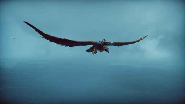 The Falconeer Flying