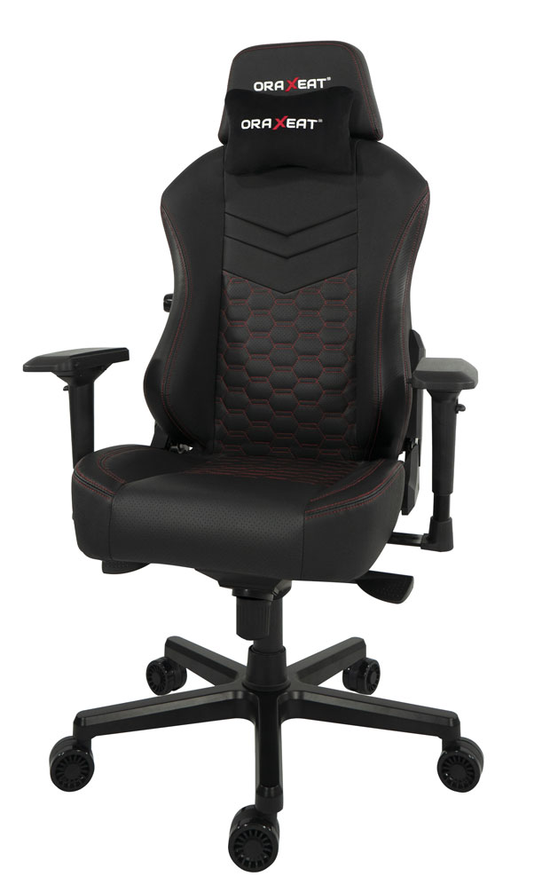 Fauteuil gaming TK900 d'Oraxeat (Rouge)