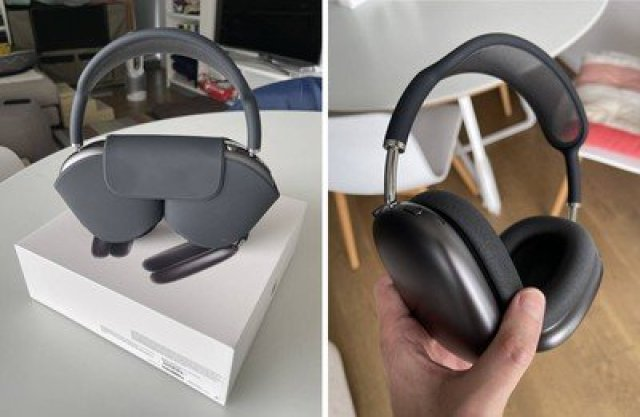 airpods max customer photos