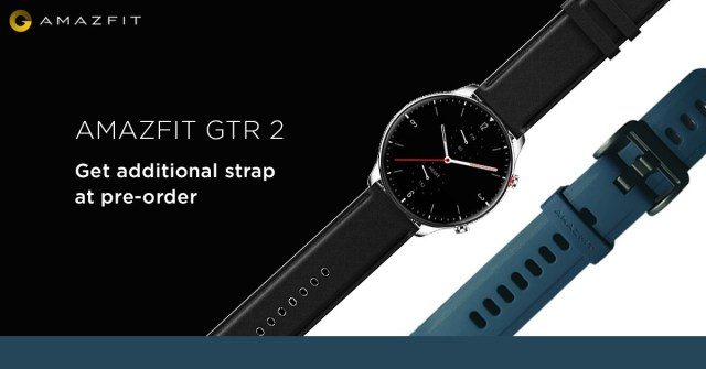 Amazfit GTR 2 is up for pre-orders in India starting at INR12,999