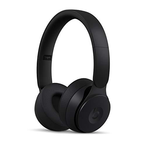 Casque Beats Solo Pro sans fil avec réduction du bruit - Puce Apple H1 pour casques et écouteurs, Bluetooth classe 1, mode Réduction active du bruit, mode Transparence, 22 heures d'écoute - Noir