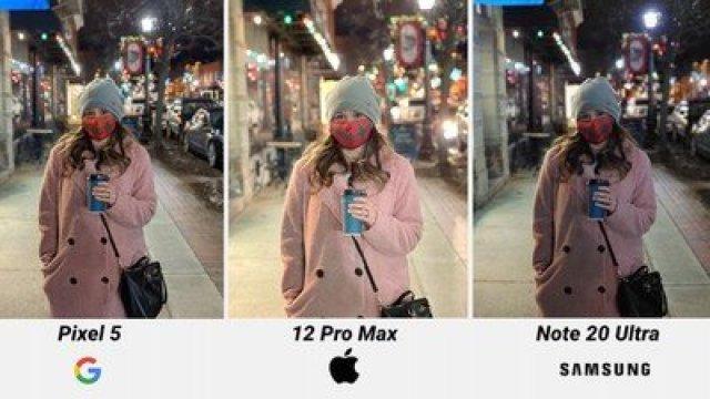 iphone 12 pro max night mode comparison