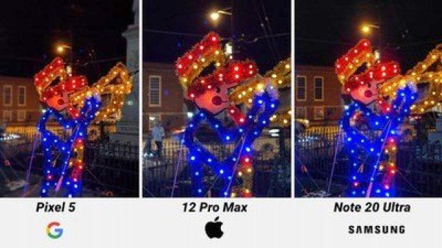 iphone 12 pro max night mode portrait