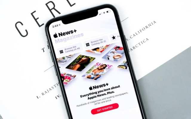 Apple News app on iPhone