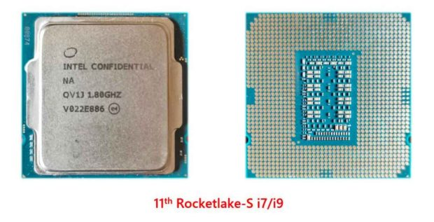 Processeur Intel Rocket Lake-S