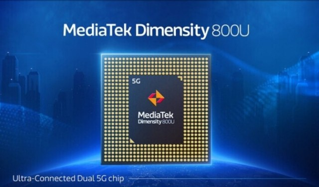 Dimensity 800U-powered phones to arrive in India in January 2021