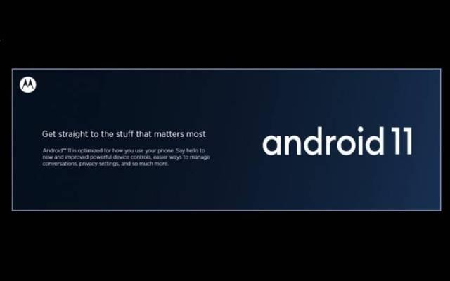 Motorola Phones Android 11 Update Schedule